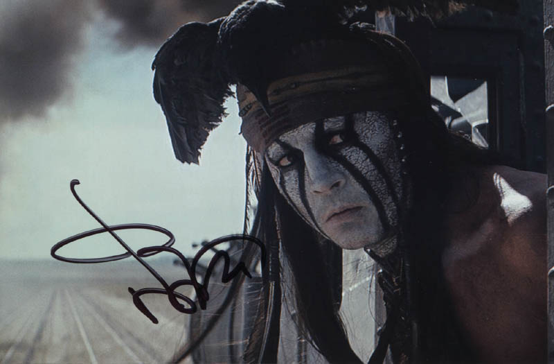 Image 1 for Johnny Depp - Autographed Signed Photograph - HFSID 320088