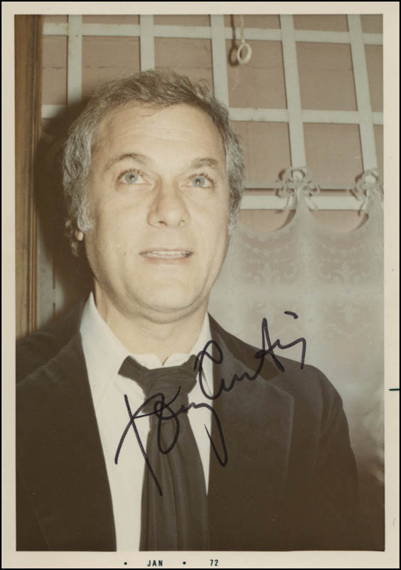 Image 1 for Tony Curtis - Autographed Signed Photograph Circa 1972 - HFSID 320109
