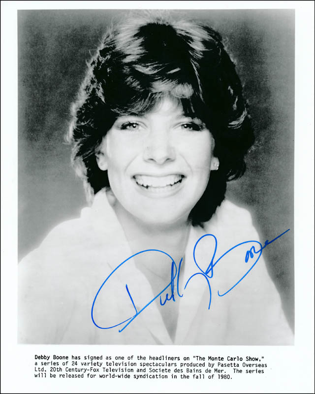 Image 1 for Debby Boone - Autographed Signed Photograph - HFSID 320441