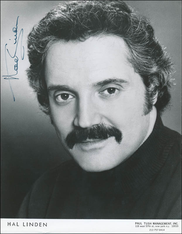 Image 1 for Hal Linden - Autographed Signed Photograph - HFSID 320444