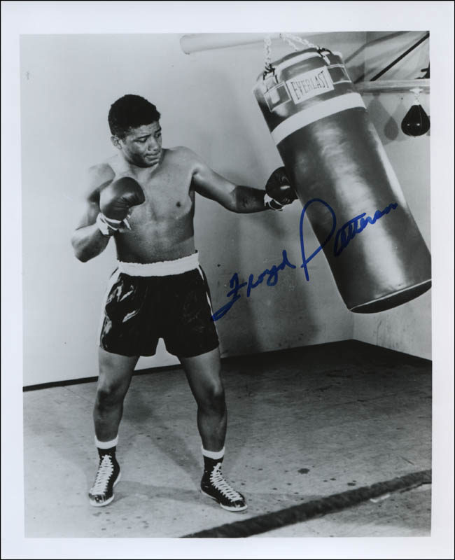 Image 1 for Floyd Patterson - Autographed Signed Photograph - HFSID 320508