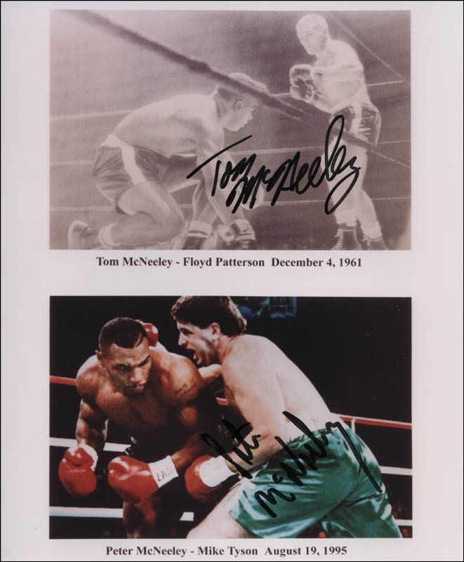 Image 1 for Tom Mcneeley - Printed Photograph Signed In Ink co-signed by: Peter Mcneeley - HFSID 320525