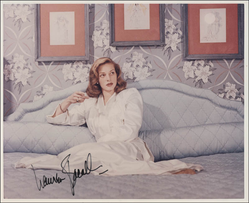 Image 1 for Lauren Bacall - Autographed Signed Photograph - HFSID 320606