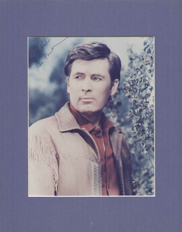 Image 1 for Fess Parker - Autographed Signed Photograph - HFSID 320642