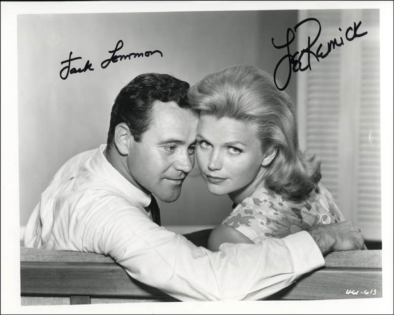 Days Of Wine And Roses Movie Cast P Ograph Signed Co Signed By Lee Remick Jack Lemmon Hfsid 320656