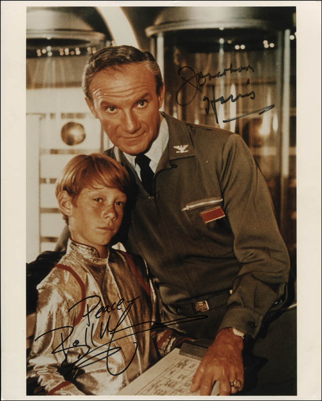 Image 1 for Lost In Space TV Cast - Autographed Signed Photograph co-signed by: Billy Mumy, Jonathan Harris - HFSID 320660