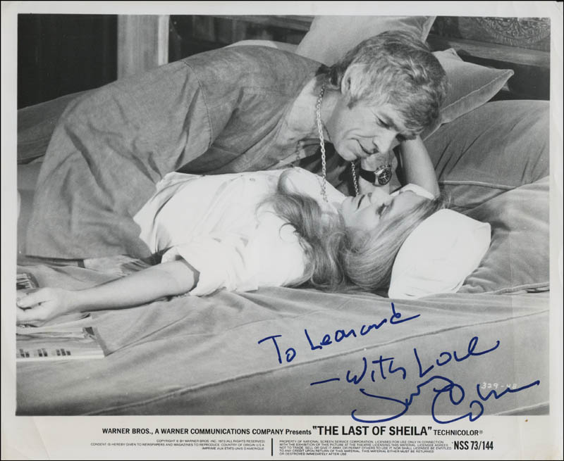 Image 1 for James Coburn - Autographed Inscribed Photograph - HFSID 320661