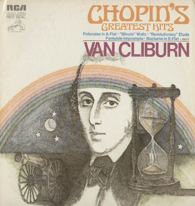 Image 3 for Van Cliburn - Inscribed Record Album Cover Signed - HFSID 320667