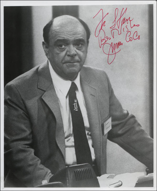 Image 1 for James 'Jimmy' Coco - Autographed Inscribed Photograph - HFSID 320850