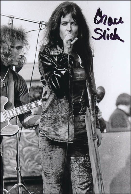 Image 1 for Jefferson Airplane (Grace Slick) - Autographed Signed Photograph - HFSID 320910