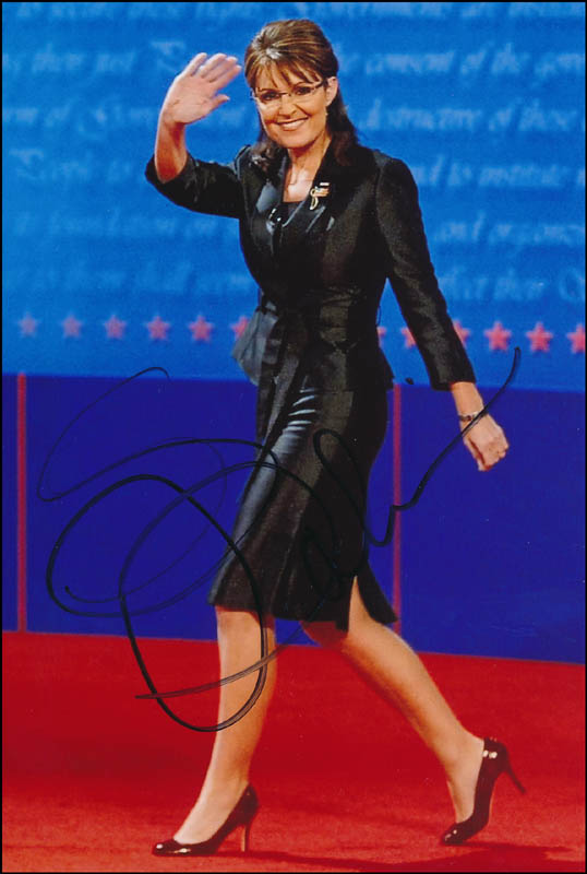 Image 1 for Governor Sarah Palin - Autographed Signed Photograph - HFSID 320945