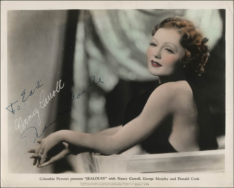 Image 1 for Nancy Carroll - Autographed Inscribed Photograph - HFSID 320992