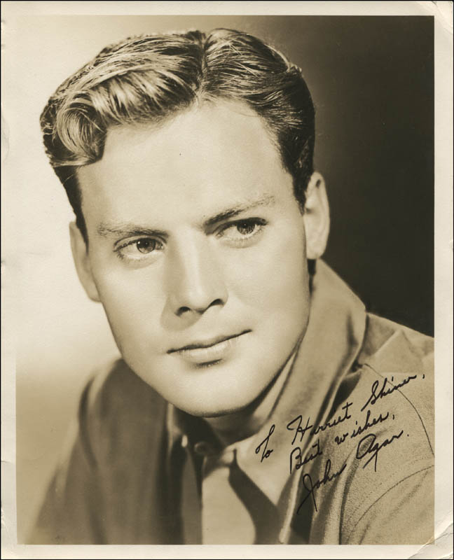 Image 1 for John Agar - Autographed Inscribed Photograph - HFSID 321052