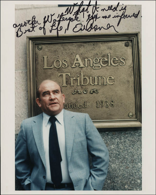 Image 1 for Ed Asner - Autographed Signed Photograph - HFSID 321055