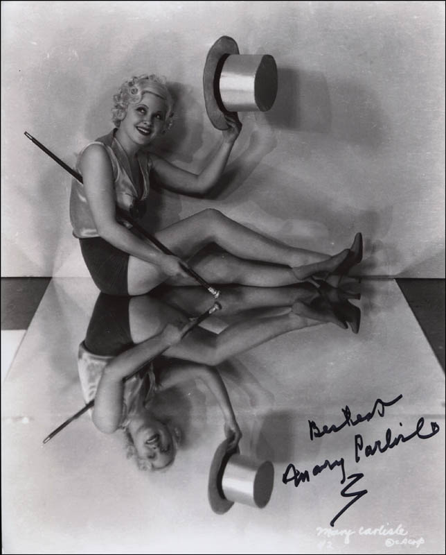 Image 1 for Mary Carlisle - Autographed Signed Photograph - HFSID 321060