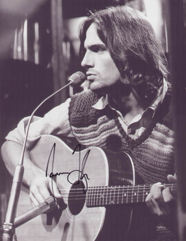 Image 1 for James Taylor - Autographed Signed Photograph - HFSID 321088