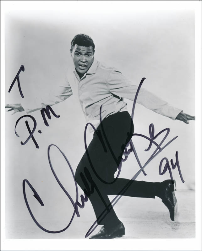 Image 1 for Chubby 'The Twist King' Checker - Autographed Signed Photograph 1994 - HFSID 321114
