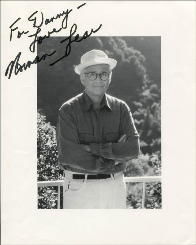 Image 1 for Norman Lear - Autographed Inscribed Photograph - HFSID 321130