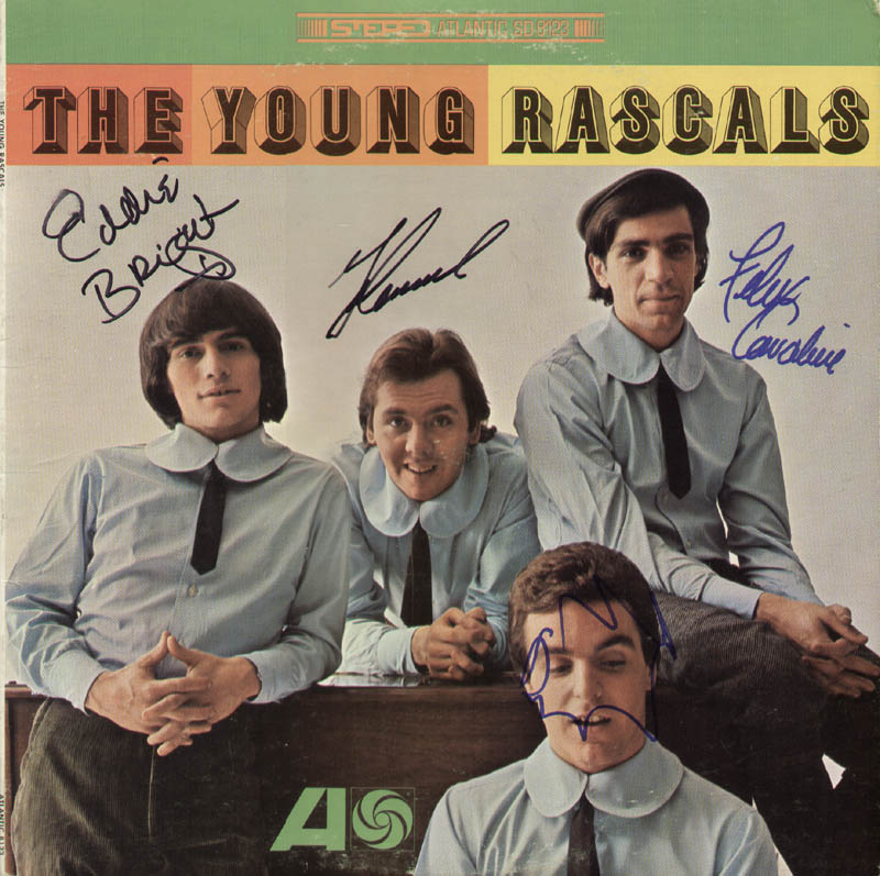 Image 1 for The (Young) Rascals - Record Cover Signed with co-signers - HFSID 321173