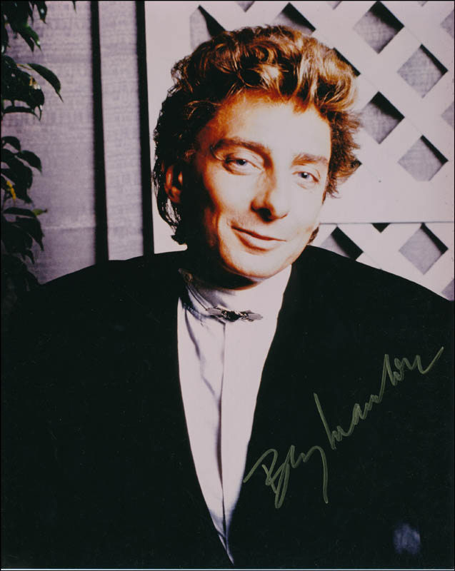 Image 1 for Barry Manilow - Autographed Signed Photograph - HFSID 321307
