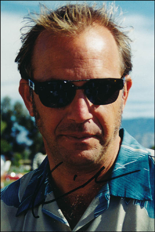 Image 1 for Kevin Costner - Autographed Signed Photograph - HFSID 321308
