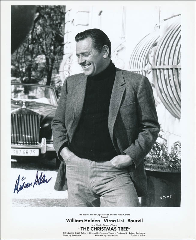 William Holden Autographed Signed Photograph Historyforsale Item