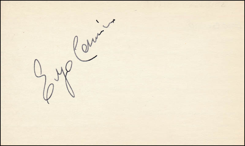 Image 1 for Enzo Cerusico - Autograph - HFSID 321355