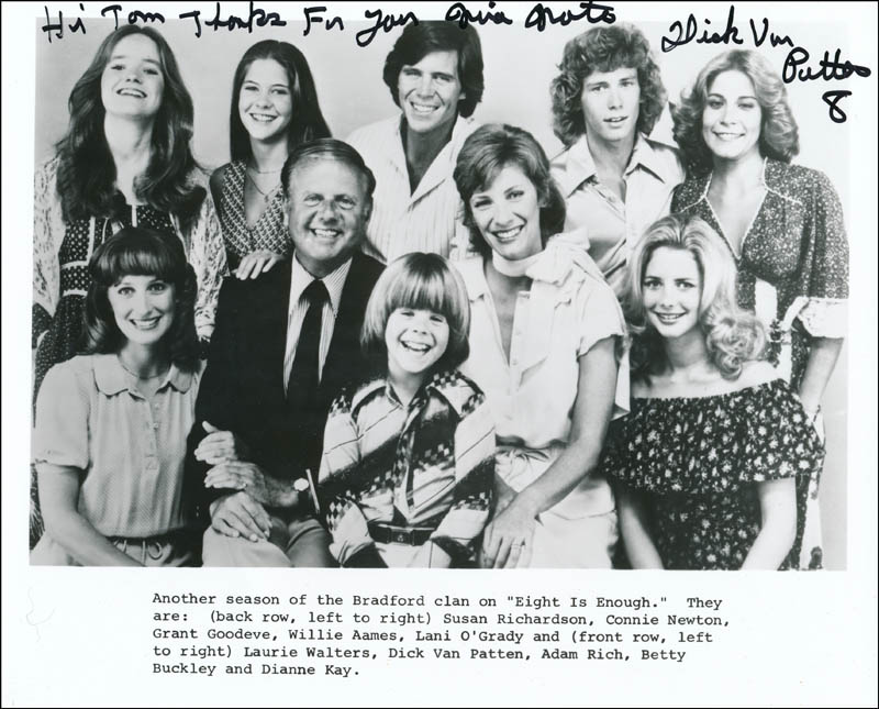 Image 1 for Dick Van Patten - Inscribed Printed Photograph Signed In Ink - HFSID 321501