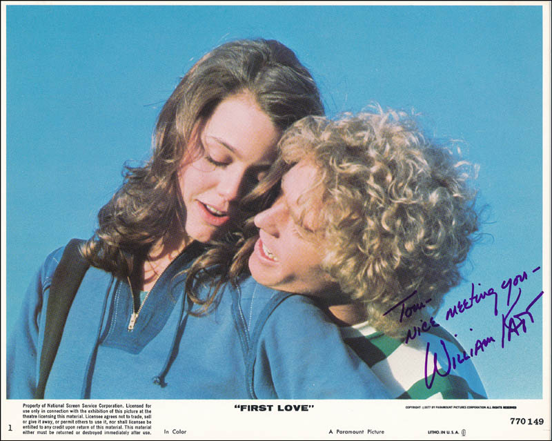 Image 1 for William Katt - Autographed Inscribed Photograph - HFSID 321515