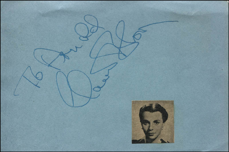 Image 1 for Claire Bloom - Inscribed Signature - HFSID 321523