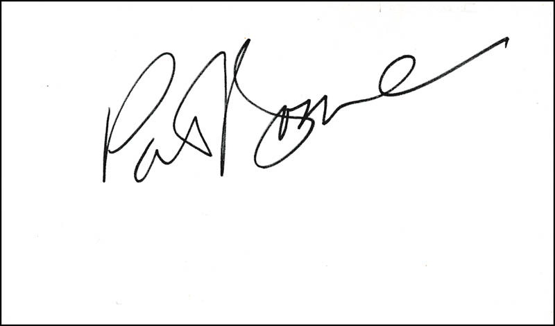 Image 1 for Pat Boone - Autograph - HFSID 321558