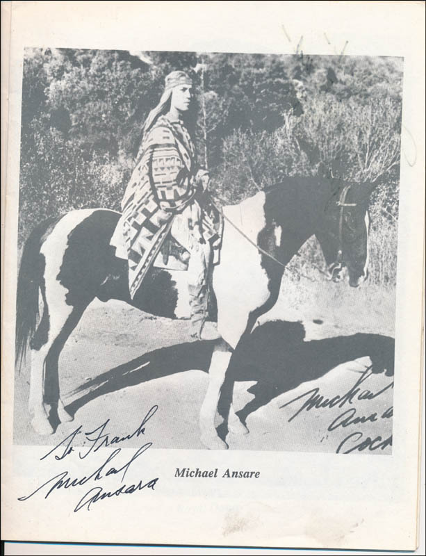 Image 3 for Michael Ansara - Inscribed Program Signed 1988 with co-signers - HFSID 321696