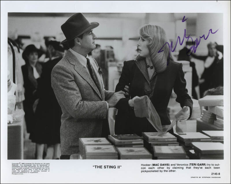 Image 1 for Teri Garr - Autographed Signed Photograph - HFSID 321703