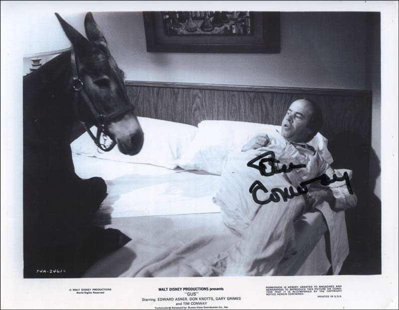 Image 1 for Tim Conway - Autographed Signed Photograph - HFSID 321711