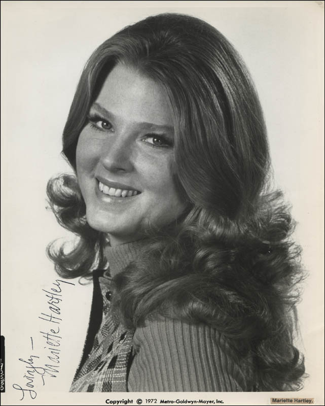 Image 1 for Mariette Hartley - Autographed Signed Photograph - HFSID 321714