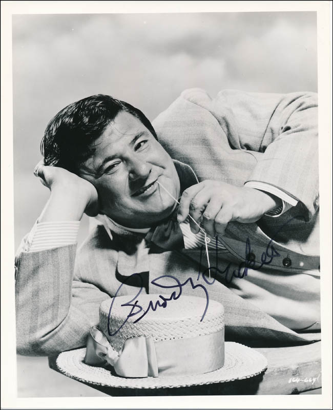 Image 1 for Buddy Hackett - Autographed Signed Photograph - HFSID 321773