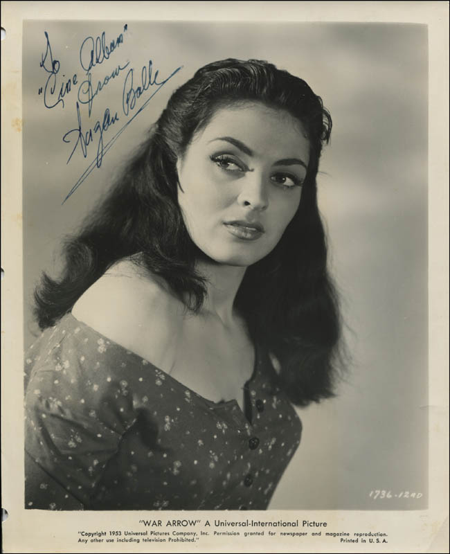 Image 1 for Suzan Ball - Autographed Inscribed Photograph - HFSID 321893