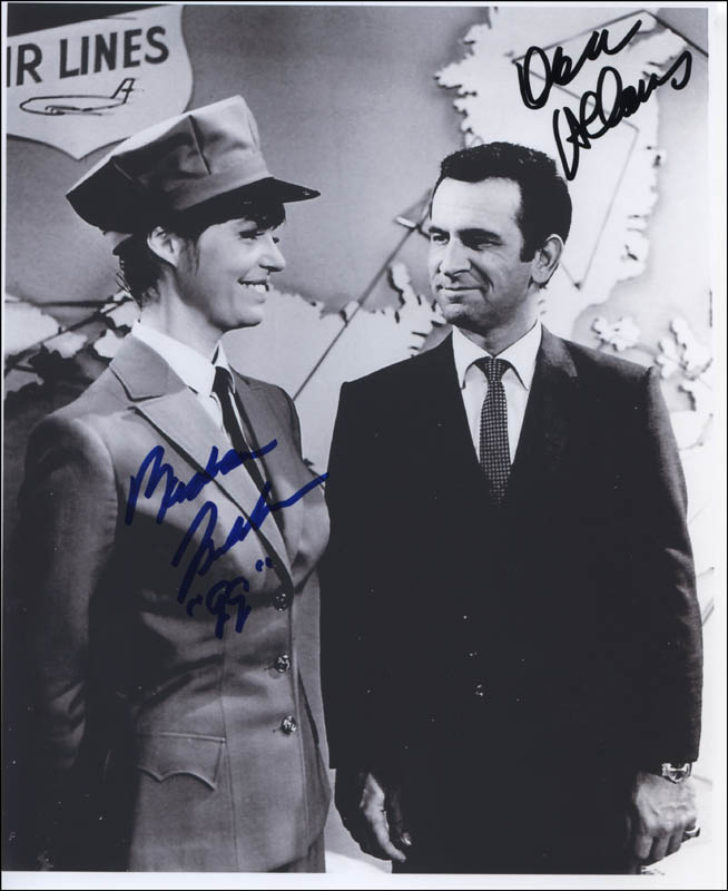 Image 1 for Get Smart TV Cast - Autographed Signed Photograph 1999 co-signed by: Don Adams, Barbara Feldon - HFSID 321907