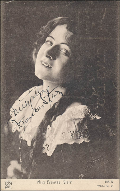 Image 1 for Frances Starr - Autographed Signed Photograph - HFSID 321958