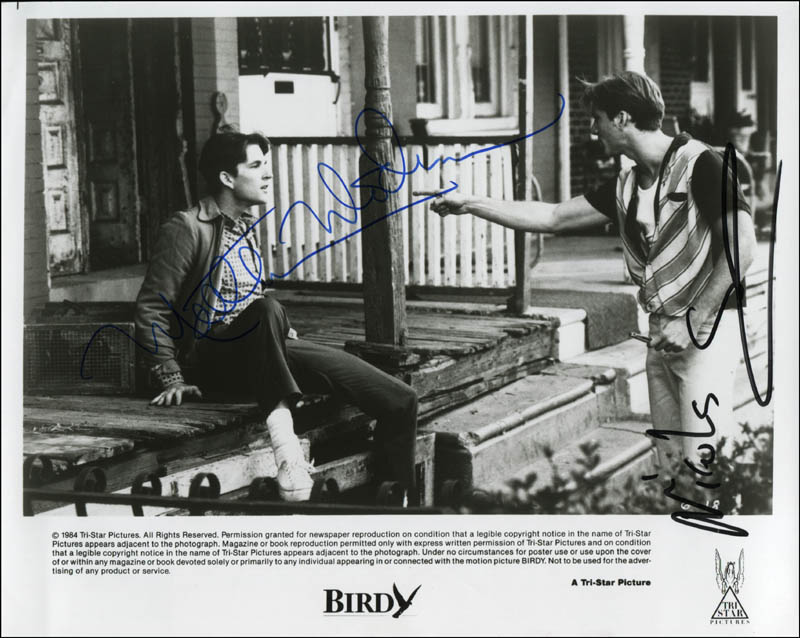 Image 1 for Birdy Movie Cast - Autographed Signed Photograph co-signed by: Nicolas Cage, Matthew Modine - HFSID 322117