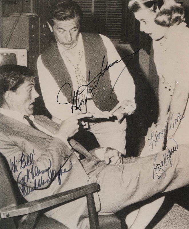 Image 1 for The Dick Van Dyke TV Cast - Autographed Signed Photograph co-signed by: Dick Van Dyke, Rose Marie, Morey Amsterdam - HFSID 322211