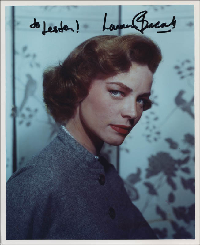 Image 1 for Lauren Bacall - Autographed Inscribed Photograph - HFSID 322234