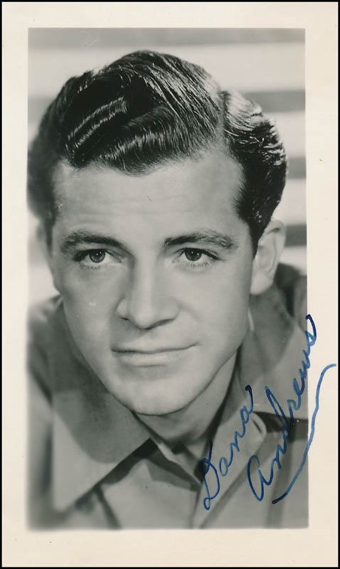 Image 1 for Dana Andrews - Autographed Signed Photograph - HFSID 322269