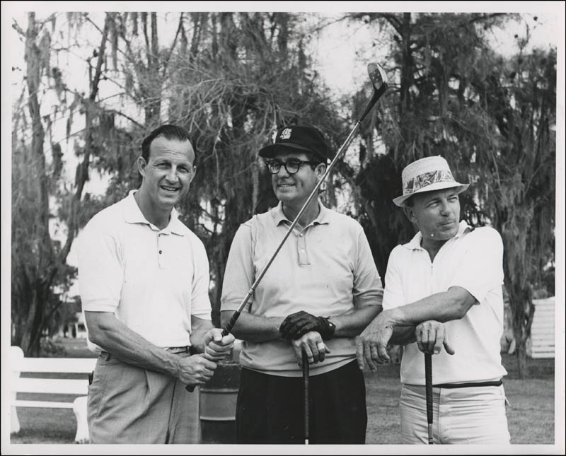Image 8 for Stan Musial Personal Candid Golf Photograph Collection with Letter Of Provenance From Musial Family - HFSID 322296