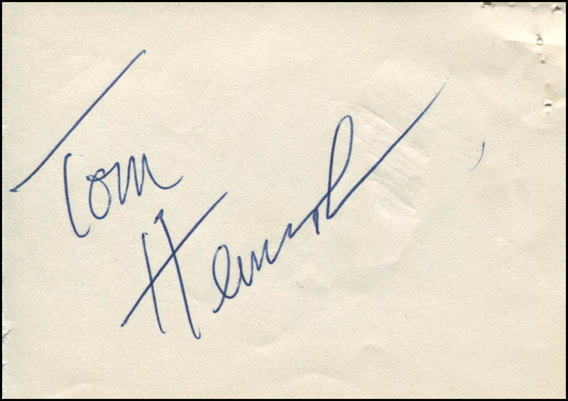 Image 1 for Tommy Heinsohn - Autograph - HFSID 322347