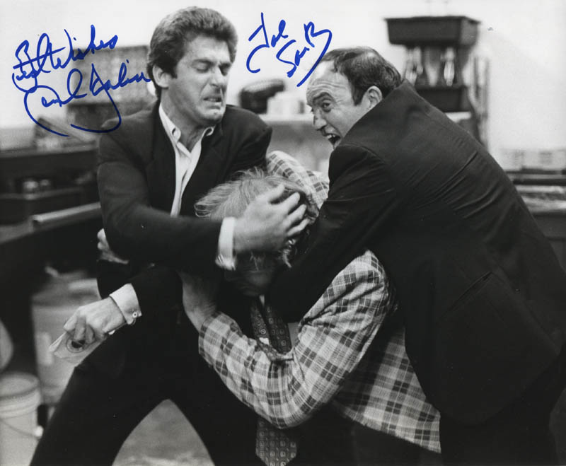 Image 1 for Fear City Movie Cast - Autographed Signed Photograph co-signed by: Joe Santos, Jack Scalia - HFSID 322385