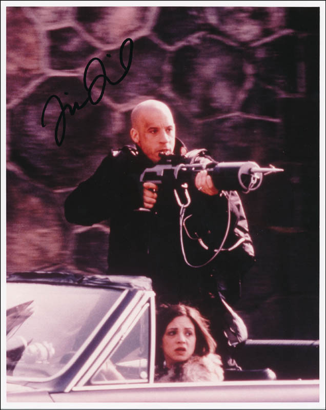 Image 1 for Vin Diesel - Autographed Signed Photograph - HFSID 322414