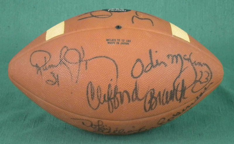 Image 3 for Oakland Raiders - Football Signed with co-signers - HFSID 322430