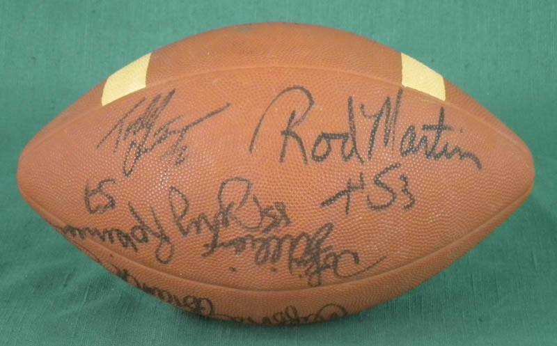 Image 4 for Oakland Raiders - Football Signed with co-signers - HFSID 322430