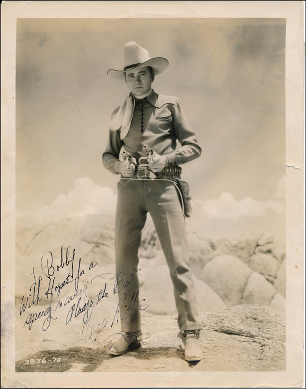 Image 1 for Tex Ritter - Autographed Inscribed Photograph - HFSID 322508